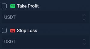 take profit stop loss stormgain